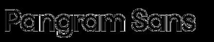 Pangram Sans