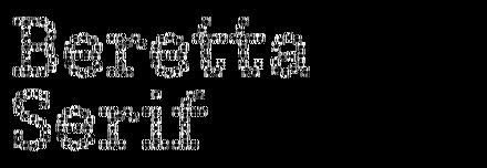 Beretta Serif