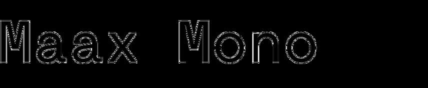 Maax Mono
