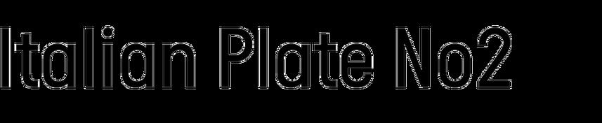 Italian Plate No2