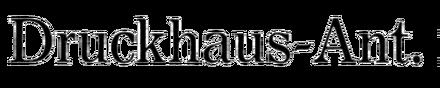 Druckhaus-Antiqua