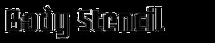 Body Stencil (Arktype)