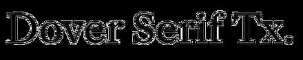 Dover Serif Text