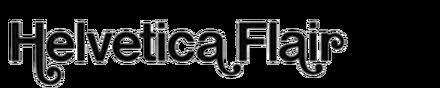 Helvetica Flair