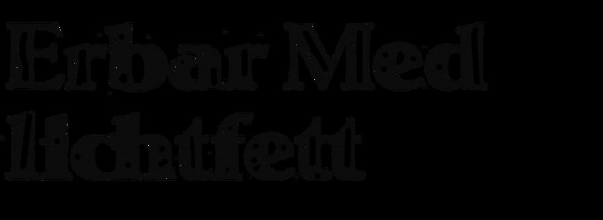 Erbar-Mediaeval lichtfett