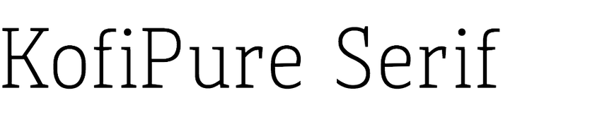 KofiPure Serif