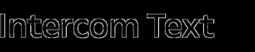 Intercom Text