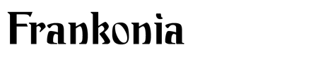 Image of frankonia
