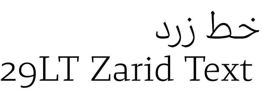 29LT Zarid Text