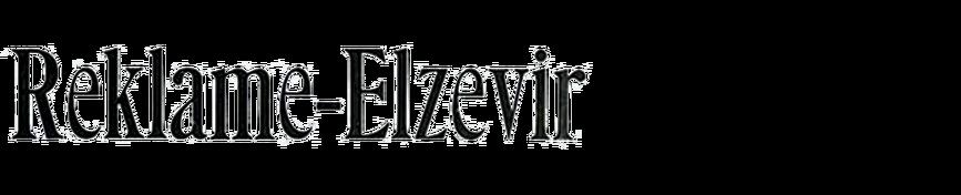 Reklame-Elzevir