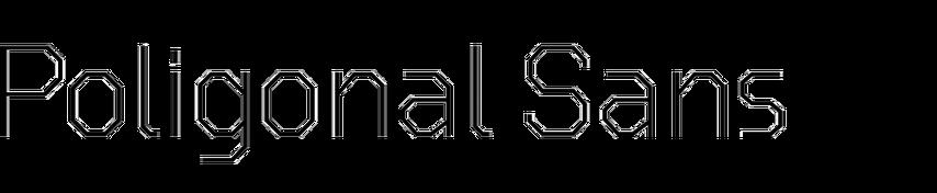 Poligonal Sans