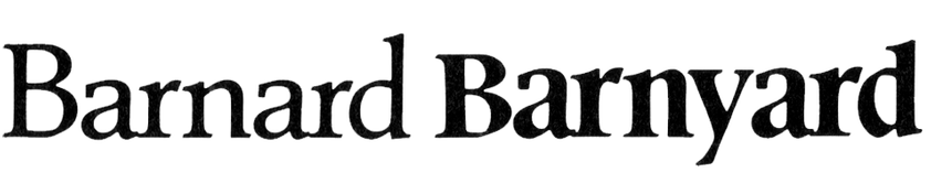 Barnard & Barnyard