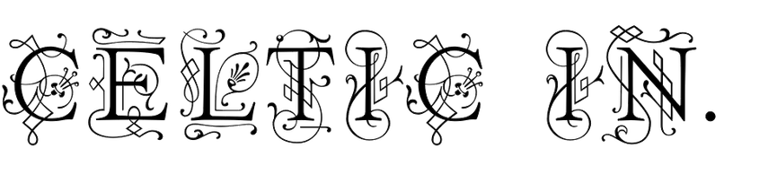 Celtic Initials