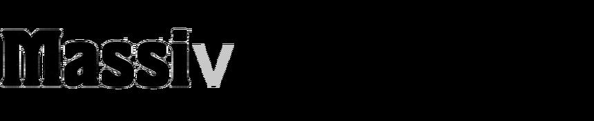 lnseratschrift Massiv
