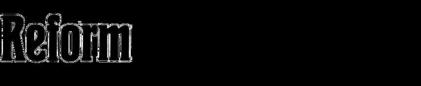 lnseratschrift Reform