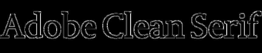 Adobe Clean Serif
