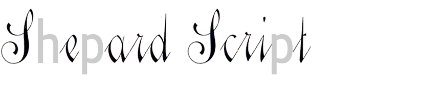 Shepard Script