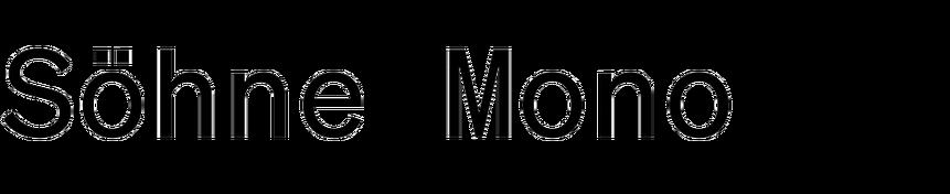 Söhne Mono