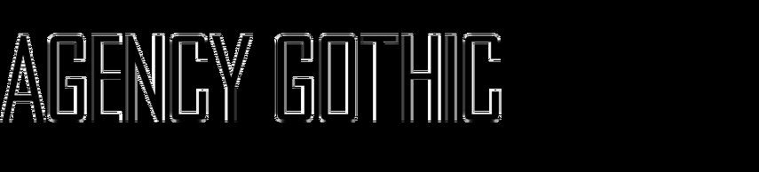 Agency Gothic