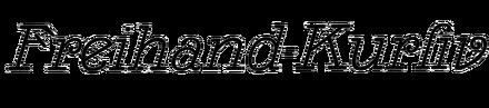 Freihand-Kursiv