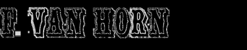 Filmotype Van Horn