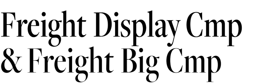Freight Display Cmp & Big Cmp