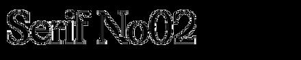 Serif No02