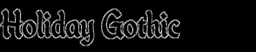 Holiday Gothic