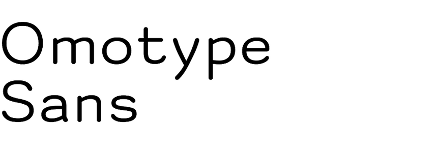 Omotype Sans