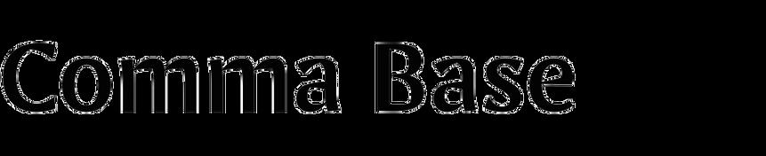 Comma Base