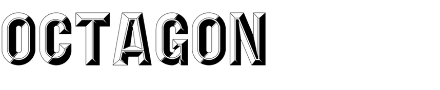 Octagon Gothic Condensed Shaded