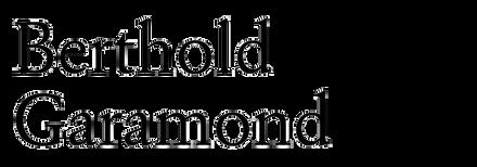Berthold Garamond