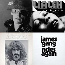 Black and White Album Covers