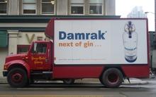 Damrak Gin Truck Ad