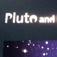 Griffith Observatory Pluto exhibition