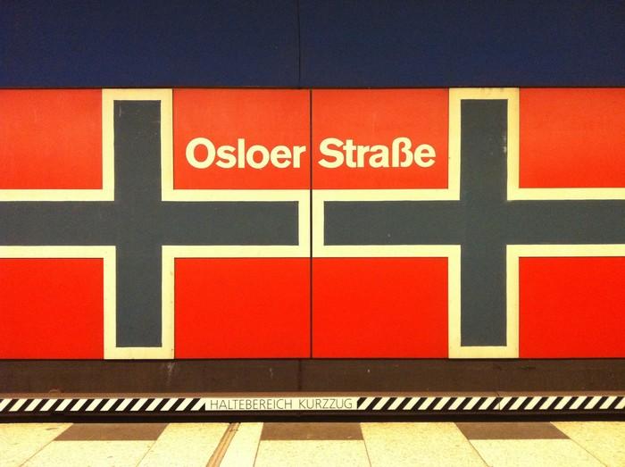 Berlin Metro Stop: Osloer Straße