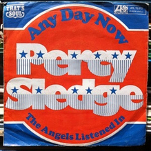 "Percy Sledge – ""Any Day Now"" single cover"