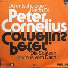 """Du entschuldige – I kenn' di"" – Peter Cornelius"