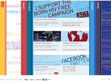 Born HIV Free website