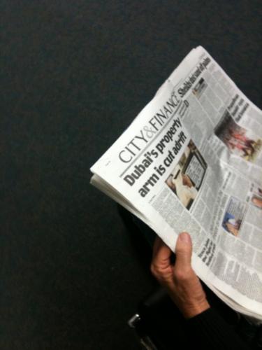 Unknown British newspaper