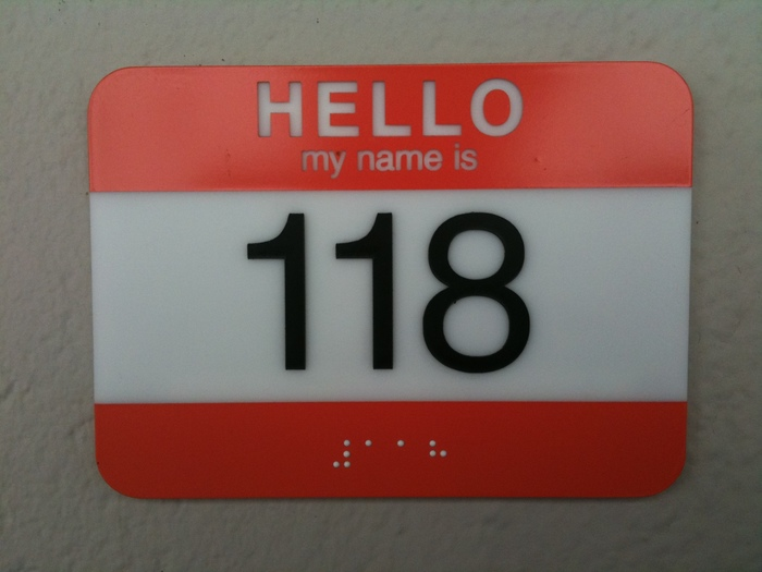 Hello, my name is 118
