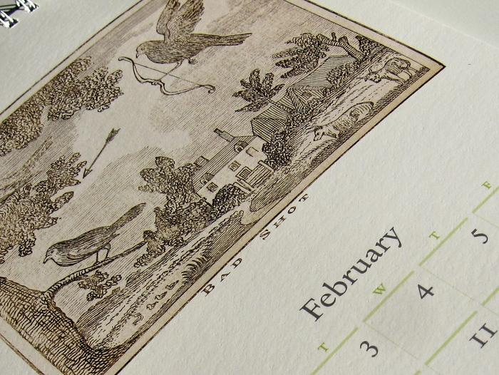42-line 2009 Rare Book Calendar 1