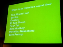 What does Helvetica sound like?