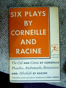 <cite>Six Plays by Corneille and Racine</cite>