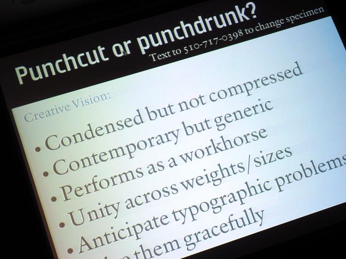Qualcomm Sans Presentation, TypeCon 2006 1