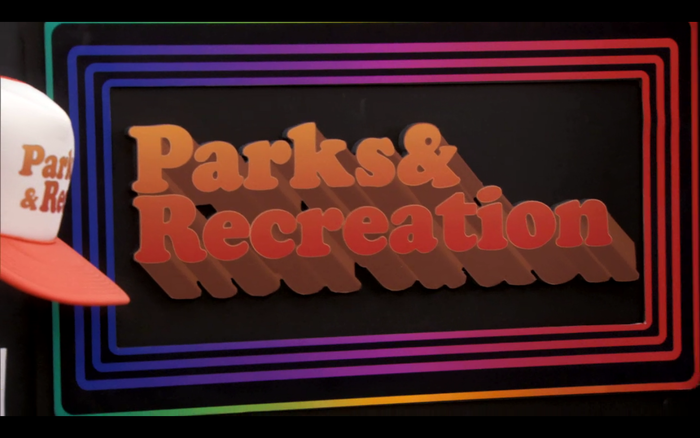"""The """"New Font Project"""" on Parks & Recreation"""
