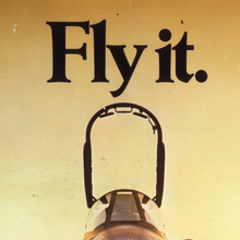 """Fly it."" Royal Air Force poster"