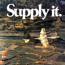 """Supply it."" Royal Air Force poster"