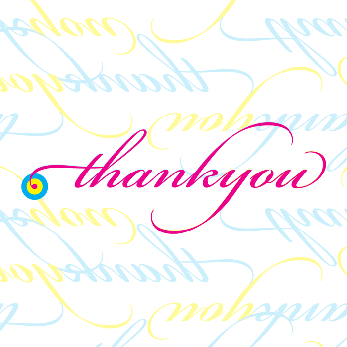 'Thank You' Design