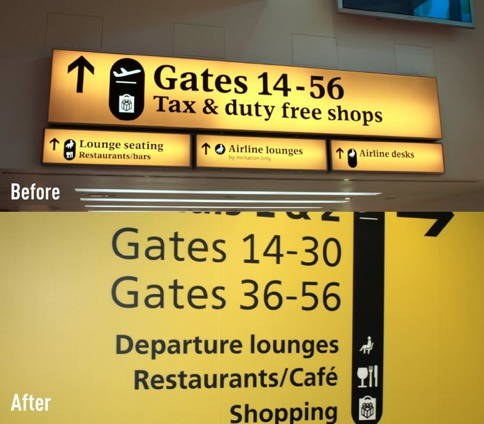 Heathrow Airport Signage (2005–09) 1